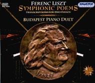 Liszt Ferenc: Szimfonikus költemények - kétzongorás átiratok (Összkiadás)