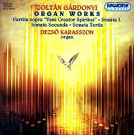 Gárdonyi Zoltán: Orgonaművek