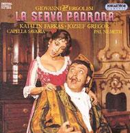 Pergolesi, Giovanni: Az úrhatnám szolgáló