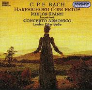 Bach, C.Ph.E.: Csembalóversenyek