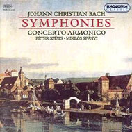 Bach, J. Ch.: 5 Szimfónia