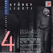 György Ligeti Edition 4 - Vokális művek