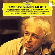 Boulez Conducts Ligeti - Concertos For Cello, Violin, Piano