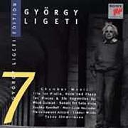 György Ligeti Edition 7 - Kamaraművek