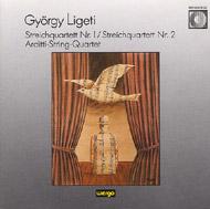 Ligeti György: Streichquartett Nr. 1; Streichquartett Nr. 2