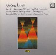 Ligeti György: Musica Ricercata; Capriccio Nr. 1 - Invention - Capriccio Nr. 2; Monument - Selbstportrait - Bewegung