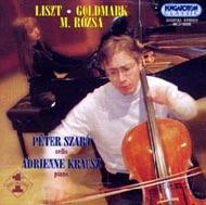 Liszt Ferenc: Consolations / Goldmark Károly: Gordonka-zongora szonáta Op.39 / Rózsa Miklós: Duó gordonkára és zongorára Op.8