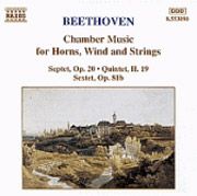 Beethoven, Ludwig van: Kamarazene kürtre, fúvósokra és vonósokra