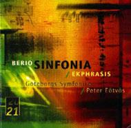Berio, Luciano: Sinfonia for 8 Voices and Orchestra / Ekphrasis