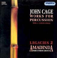 Cage, John: Ütőhangszerekre írt kompozíciók - Legacies 2.