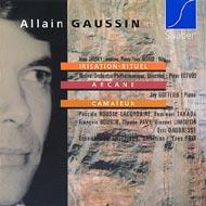 Gaussin, Allain: Irisation-Rituel; Arcane; Camaïeux