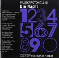 Musikprotokoll '91 - Die Nacht