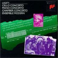 Ligeti György: Zongoraverseny; Csellóverseny; Kammerkonzert