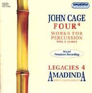 Cage, John: Ütőhangszerekre írt kompozíciók -  Legacies 4.