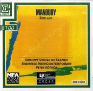 Manoury, Philippe: Zeitlauf