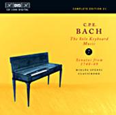 Bach, C.P.E.: Solo Keyboard Music, Vol. 07