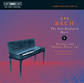 Bach, C.P.E.: Solo Keyboard Music, Vol. 08