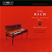 Bach, C.P.E.: Solo Keyboard Music, Vol. 09
