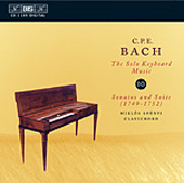Bach, C.P.E.: Solo Keyboard Music, Vol. 10
