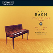 Bach, C.P.E.: Solo Keyboard Music, Vol. 11