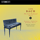 Bach, C.P.E.: Solo Keyboard Music, Vol. 13