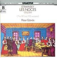 Sztravinszkij, Igor: Menyegző - 4 zongorás (1923 ) és zenekari (1917) változat