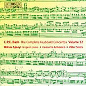 Bach, C.P.E.: The Complete Keyboard Concertos, Vol. 12