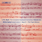 Bach, C.P.E.: The Complete Keyboard Concertos, Vol. 14