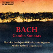 Bach, J.S.: Gambaszonáták