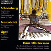 Organ music by Schöberg, Frescobaldi and Ligeti