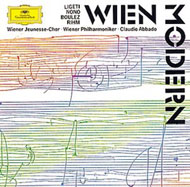 Ligeti György: Lontano; Atmosphčres; Nono: Liebeslied; Boulez: Notations (I-IV); Rihm: Départ