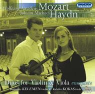 Mozart/Haydn: Duók hegedűre és mélyhegedűre - Összkiadás