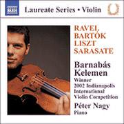 Violin Recital: Barnabás Kelemen