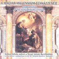 A magyar millennium egyházzenéje - Koloss István művei a Szent István Bazilikában