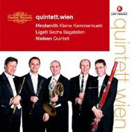 Hindemith, Paul: Kleine Kammermusik; Ligeti György: Sechs Bagatellen; Nielsen, Carl: Quintett
