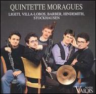 Quintette Moragues: Ligeti, Villa-Lobos, Barber, Hindemith, Stockhausen