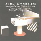 A Lady Shaves Her Legs