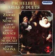 Pachelbel, Johann: Áriák és duettek
