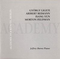 György Ligeti / Aribert Reimann / Isang Yun / Morton Feldman