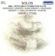 Solos - XX. századi magyar kompozíciók szóló fuvolára