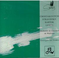 Sztravinszkij, Igor: Basel Concerto<br>Sosztakovics, Dmitrij Dmitrijevics: Kamaraszimfónia, Op. 110a<br>Bartók Béla: Divertimento BB 118<br>Ligeti György: Ramifications