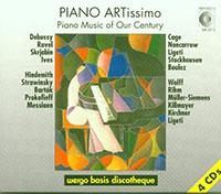 Piano Artissimo - Piano Music of Our Century