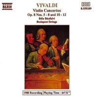 Vivaldi, Antonio: Violin Concertos Op. 8, Nos. 5-8 and 10-12