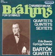 Brahms, Johannes: Vonós kamarazene (összkiadás)