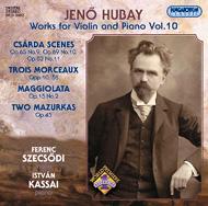 Hubay Jenő: Hegedű-zongoraművek 10.