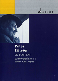 Peter Eötvös - CD Portrait - Work Catalogue