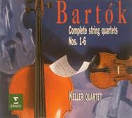 Bartók Béla: Vonósnégyes No. 1-6 (Összkiadás)