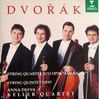 Dvorák, Antonín: F-dúr vonósnégyes (Amerikai) No. 12, op. 96; Esz-dúr vonósötös op. 97