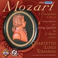 Mozart, W. A.: Három szonáta K. Anh. 166