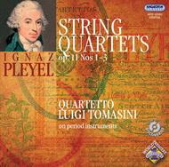 Pleyel, Ignace Joseph: Három vonósnégyes Op. 11